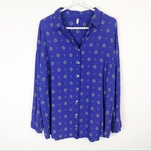 Free People Button Down S